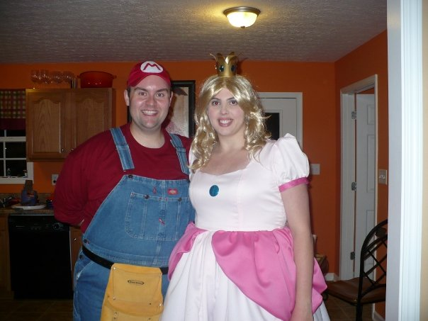 All of our guests dressed up including both of our mothers. We even dressed up our dog as a princess but she did not care for it so she got a fun ...  sc 1 st  Stellar Path & Princess Peach | Martha Wannabe