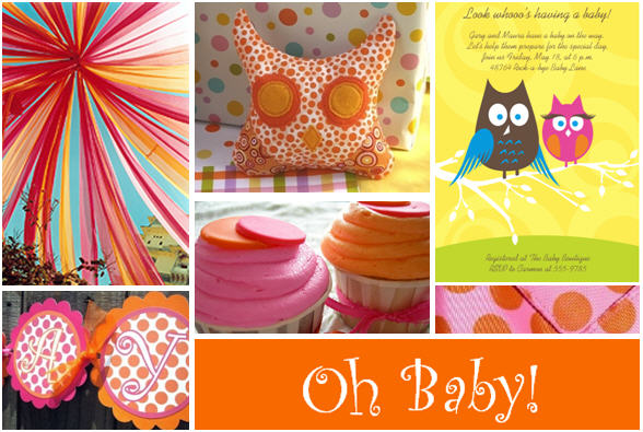 Owl baby shower plates image search results for Baby owl decoration