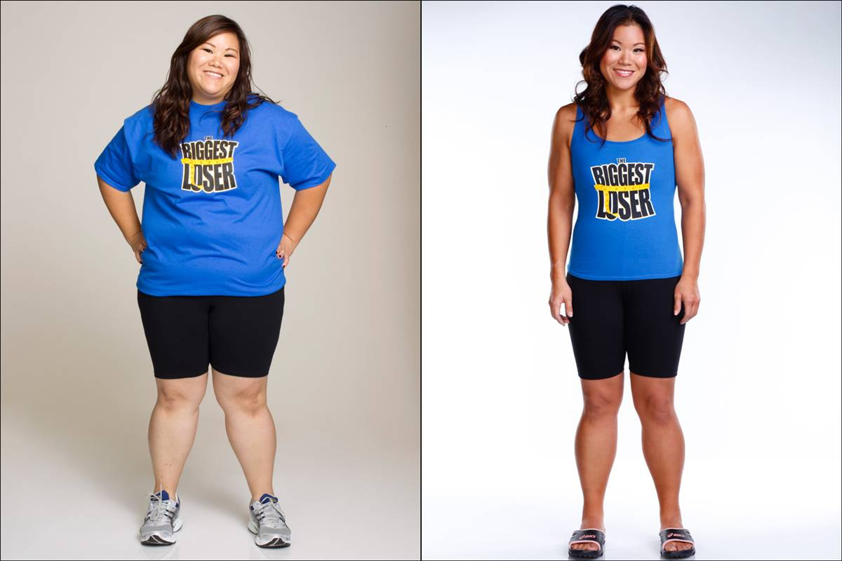 Biggest Loser Winners Before and After