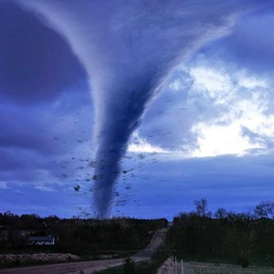 Tornadoes - responsible for trailer park damage and mild joint pain